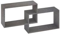 Полка-ячейка Кортекс-мебель КМ 24 (берёза) -
