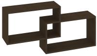 Полка-ячейка Кортекс-мебель КМ 24 (венге) -