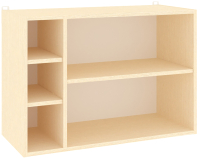 Полка Кортекс-мебель КМ 25 (венге светлый) -