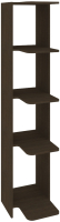 Стеллаж Кортекс-мебель КМ31 угловой (венге) -