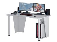 Компьютерный стол MFMaster Таунт-2 / МСТ-СИТ-02-БТ-16 (белый) -