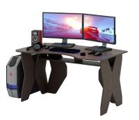 Компьютерный стол MFMaster Таунт-1 / МСТ-СИТ-01-ВМ-16 (венге) -