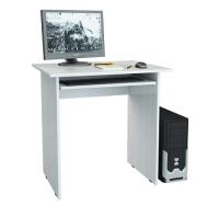 Компьютерный стол MFMaster Милан-2П / МСТ-СДМ-2П-БТ-16 (белый) -