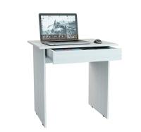 Письменный стол MFMaster Милан-2Я / МСТ-СДМ-2Я-БТ-16 (белый) -
