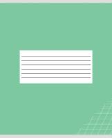 Тетрадь Проф-Пресс Классика Без слов-2 / 12-3108 (12л, косая линейка) -
