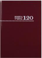 Книга учета Проф-Пресс 120-3025 (бордовый) -