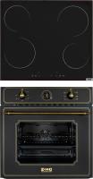 Комплект встраиваемой техники Zorg Technology BE6 RST BL + MS 161 BL -
