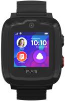 Умные часы детские Elari KidPhone 4G / KP-4G (черный) -