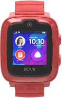 Умные часы детские Elari KidPhone 4G / KP-4G (красный) -