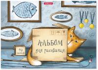 Альбом для рисования Erich Krause Cat & Box / 46918 -