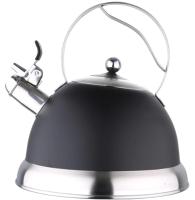 Чайник со свистком Bergner BG-3744 (нержавеющая сталь) -