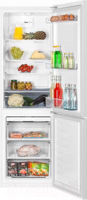 Холодильник с морозильником Beko RCNK356K20W