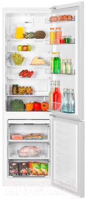 Холодильник с морозильником Beko RCNK356K20SB