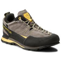 Трекинговые кроссовки La Sportiva Boulder X / 838GY (р-р 41.5, серый/желтый) -