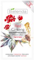 Маска для лица кремовая Bielenda Red Ginseng восстанавливающая против морщин (8г) -