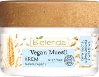 Крем для лица Bielenda Vegan Muesli увлажняющий пшеница+овес+кокосовое молоко (50мл) -