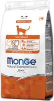 Корм для кошек Monge Monoprotein Sterilised Duck (1.5кг) -
