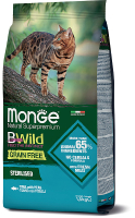 Корм для кошек Monge BWild Cat Grain Free Sterilised Tuna (1.5кг) -