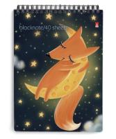 Блокнот Альт Волшебные лисы / 3-40-248 (40л, клетка) -