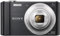 Компактный фотоаппарат Sony Cyber-shot DSC-W810 (черный) -