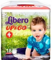Подгузники-трусики Libero Up&Go Maxi (18шт) -