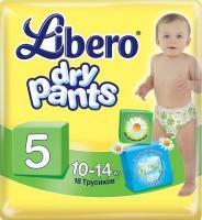 Подгузники-трусики Libero Dry Pants 5 Maxi Plus (18шт) -
