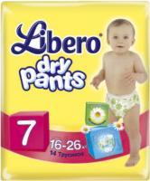 Подгузники-трусики Libero Dry Pants 7 Extra Large Plus (14шт) -
