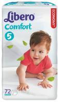 Подгузники Libero Comfort 5 (72шт) -