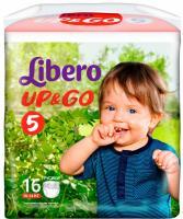 Подгузники-трусики Libero Up&Go Maxi Plus 5 (16шт) -