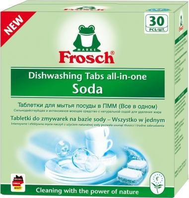Таблетки для посудомоечных машин Frosch All in One Soda (30шт) - общий вид