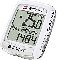 Велокомпьютер Sigma BC 14.12 ALT / 04150 -
