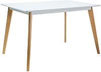 Обеденный стол Signal Declan I 120 (белый/бук) -