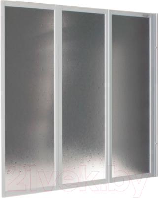 Пластиковая шторка для ванны Kolpa-San Quat TP 140 (белый)