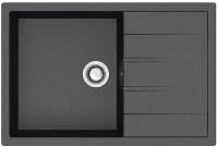 Мойка кухонная Berge BR-7603 (черный) -