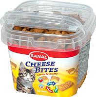 Лакомство для кошек Sanal Cheese Bites / 1572SC (75г) -