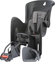 Детское велокресло Polisport Bilby RS (черный/темно-серый) -