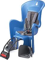 Детское велокресло Polisport Bilby Maxi FF (синий/серый) -