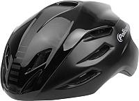 Защитный шлем Polisport Aero Road 54/58 (M, черный/черный) -