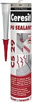 Герметик полиуретановый Ceresit CS 29 (300мл, серый) -