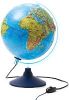 Глобус Globen Физико-политический рельефный с подсветкой / 013200233 -
