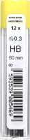 Набор грифелей для карандаша Koh-i-Noor 4132/HB -
