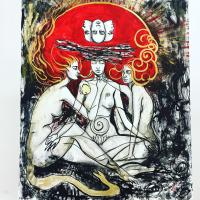 Авторская картина ХO-Gallery Подсознание / АИ-2020-002 -