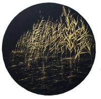 Авторская картина ХO-Gallery Камыш / АИ-2020-003 -