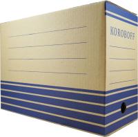 Коробка архивная Koroboff 327х150х240 (бурый) -