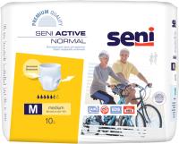 Трусы впитывающие для взрослых Seni Active Normal Medium (10шт) -