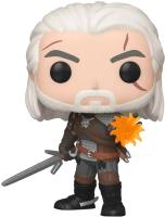 Фигурка Funko POP! Vinyl Games Witcher Geralt 45039 / Fun2549354 -