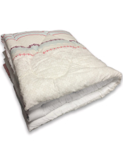 Одеяло Angellini Дуэт 8с017дб (172x205, белорусский/белый) -