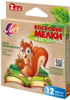 Восковые мелки ЛУЧ Zoo / 12С 865-08 (12цв) -
