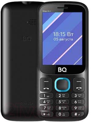 Мобильный телефон BQ Step XL+ BQ-2820 (черный/синий)