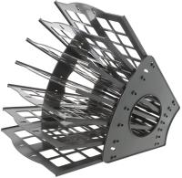 Лоток для бумаг Darvish DV-7549 (серый) -